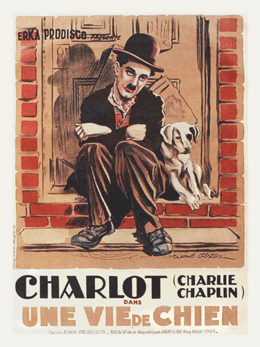 Hollywood Photo Archive Charlie Chaplin French A Dog S Life