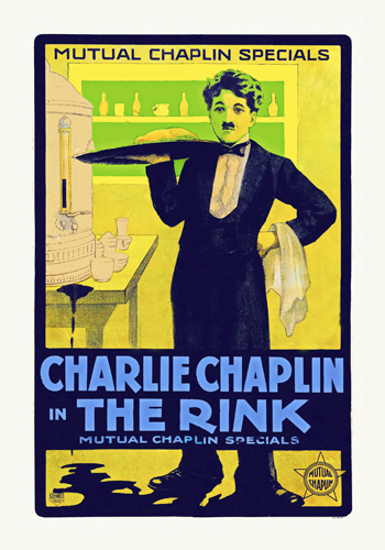 Hollywood Photo Archive Charlie Chaplin The Rink 1916