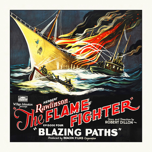 Hollywood Photo Archive Flame Fighter Blazing Paths Herbert