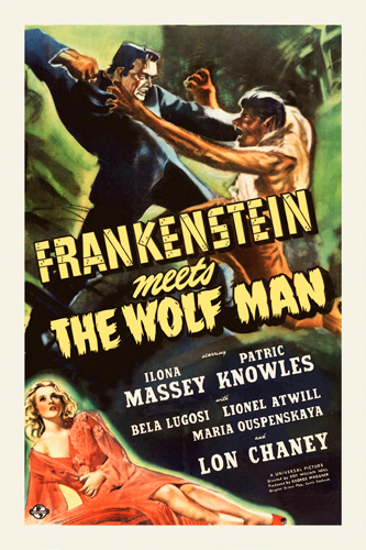 Hollywood Photo Archive Frankenstein Vs The Wolfman
