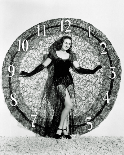 Hollywood Photo Archive Happy New Year Donna Reed