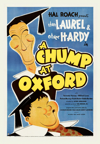 Hollywood Photo Archive Laurel Hardy A Chump At Oxford
