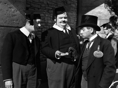 Hollywood Photo Archive Laurel Hardy A Regular Scout 1926