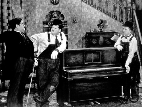 Hollywood Photo Archive Laurel Hardy Music Box The 1932