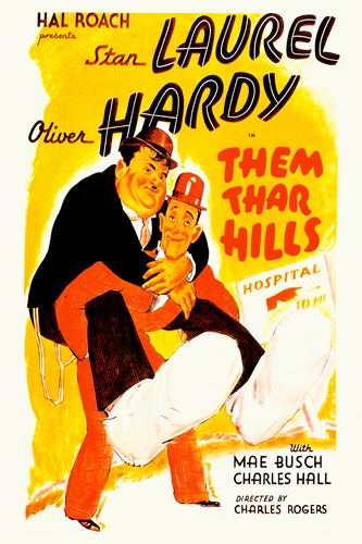 Hollywood Photo Archive Laurel Hardy Them Thar Hills 1934