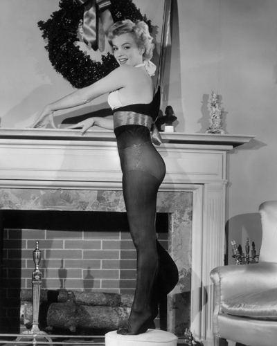 Hollywood Photo Archive Marilyn Monroe Christmas Stockings