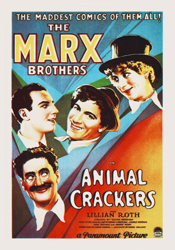 Hollywood Photo Archive Marx Brothers Animal Crackers 02