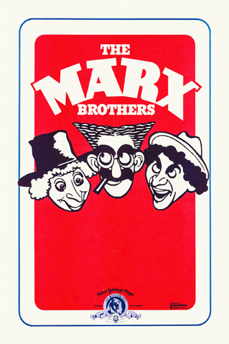 Hollywood Photo Archive Marx Brothers French Cartoon Stock