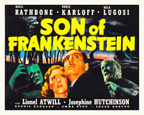 Hollywood Photo Archive Son Of Frankenstein