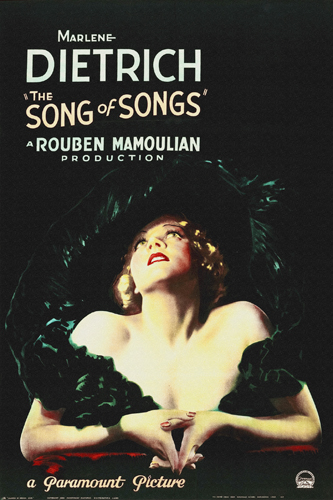 Hollywood Photo Archive Song Of Songs 1933
