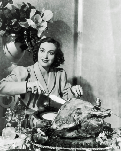 Hollywood Photo Archive Thanksgiving Joan Crawford