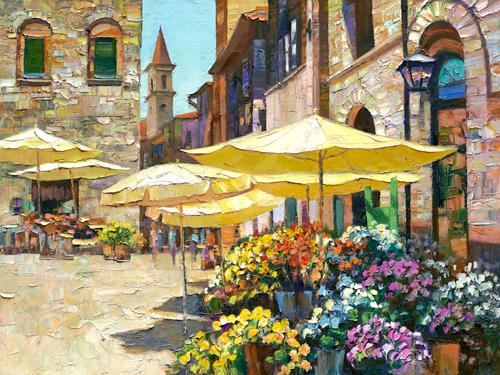 Howard Behrens Sienna Flower Market