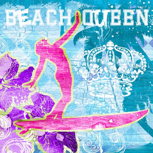 Ink Wonderland Beach Queen