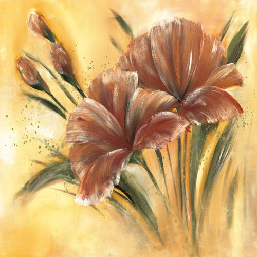 Isabelle Zacher Finet Fleur Brune I