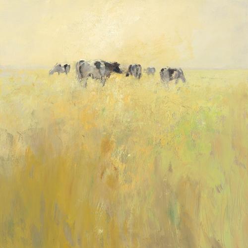 Jan Groenhart Cows In Spring