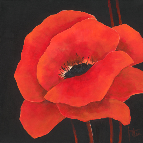 Jettie Roseboom Simple Red I