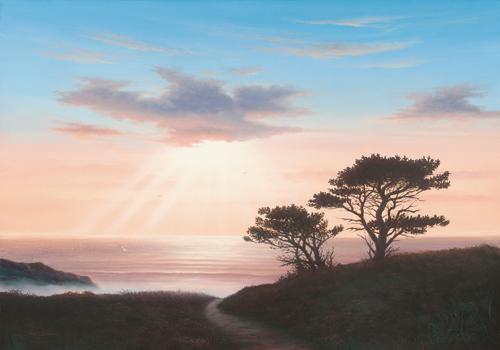 John F Sim Eagles Nest Cornwall