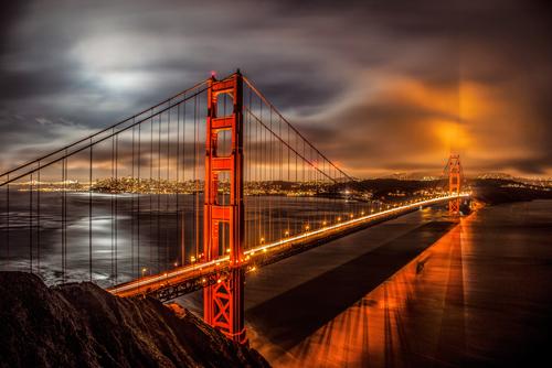 John Gavrilis Golden Gate Evening
