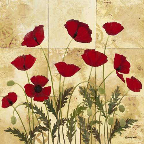 Kathrine Lovell Patterned Poppies