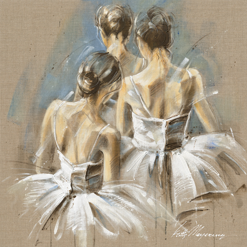 Kitty Meijering White Dress Iv