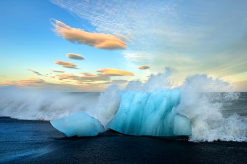 Leo Seidel Gletschereis Sudkuste