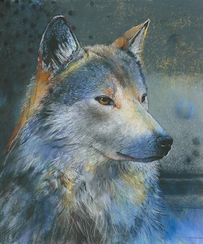 Loes Botman Grauer Wolf
