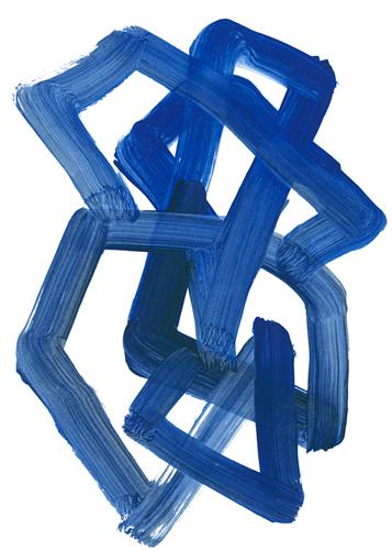 Lora Gold Continuous Blue 3