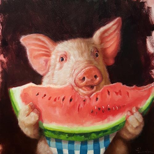 Lucia Heffernan Pig Out