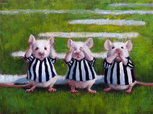 Lucia Heffernan Three Blind Mice
