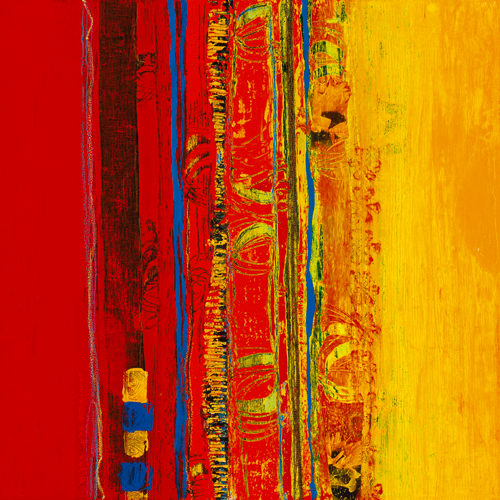 Marjolijn Van Ginkel Abstrakt I