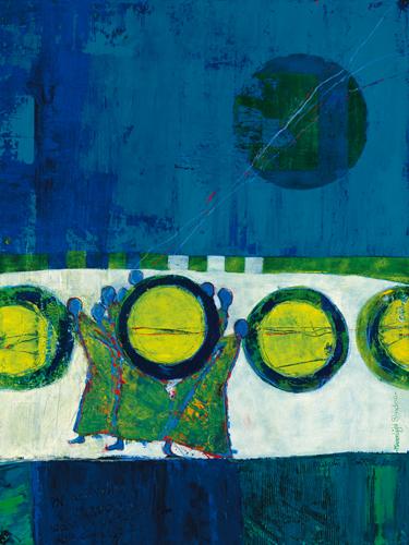 Marjolijn Van Ginkel Moonlight Shadow