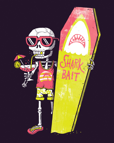 Michael Buxton Shark Bait