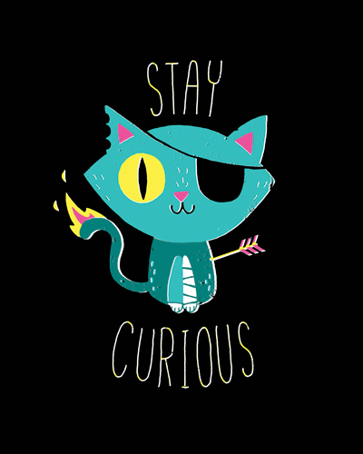 Michael Buxton Stay Curious
