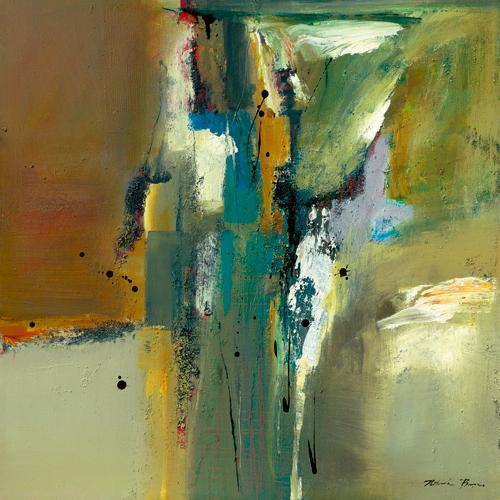 Natasha Barnes Abstract In Green Ii