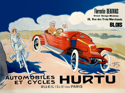 O Galop Hurtu Automobiles Et Cycles