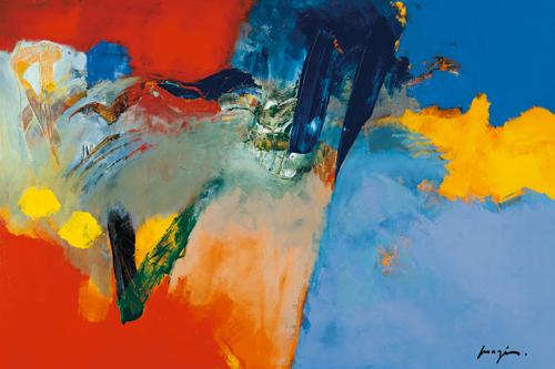 Pascal Magis Rouge Bleu Ii