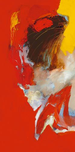 Pascal Magis Triptyque Rouge I