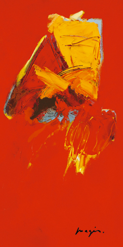 Pascal Magis Triptyque Rouge Iii