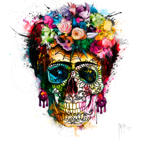 Patrice Murciano Frida Skull