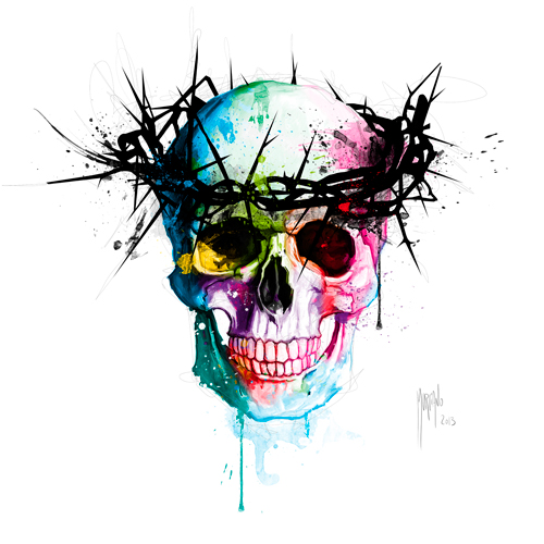 Patrice Murciano Jesus Skull