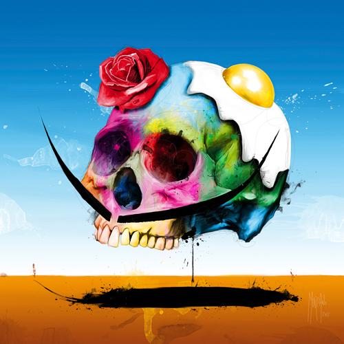 Patrice Murciano Surreal Skull