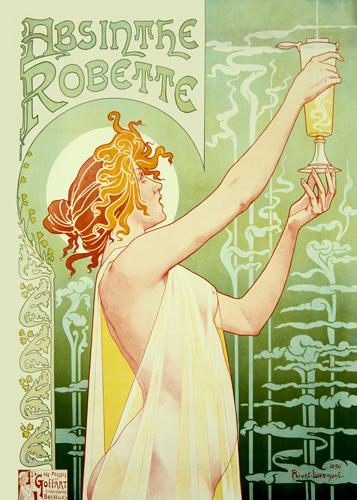 Privat Livemont Absinthe Robette