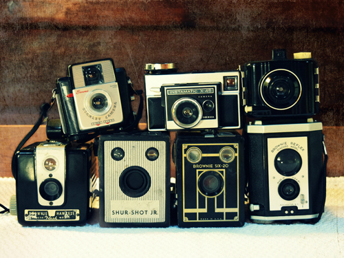 Robin Dickinson Vintage Camera Collection