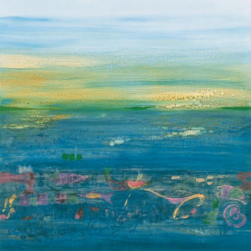 Rose Richter Armgart Blue Landscape