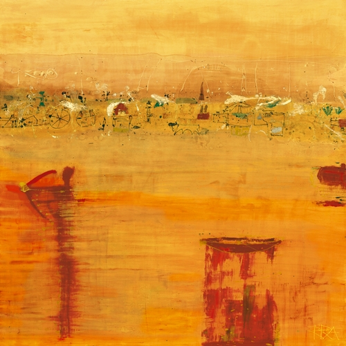 Rose Richter Armgart Orange Landscape