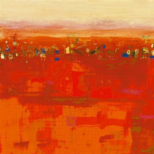 Rose Richter Armgart Red Landscape