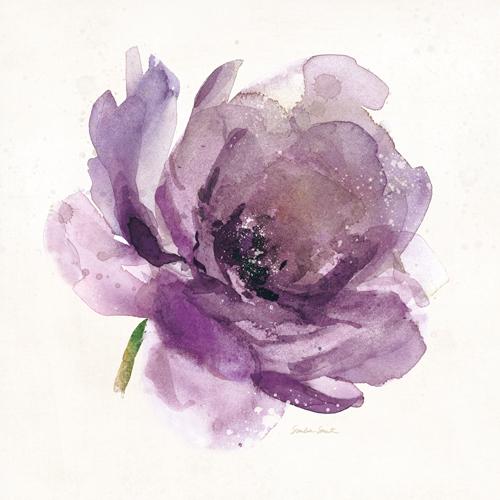 Sandra Smith Watery Plum Bloom 1