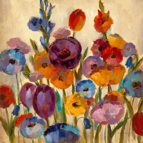 Silvia Vassileva Garden Hues I