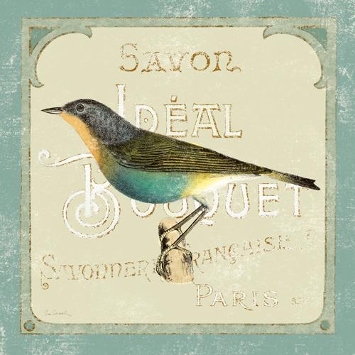 Sue Schlabach Parisian Bird Ii