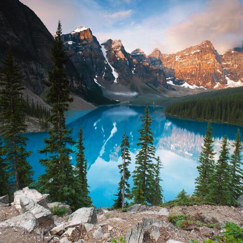 Ulf Brommelhorster West Alberta Moraine Lake